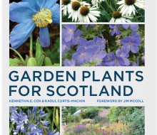 Books Garden Plants for Scotland new cover