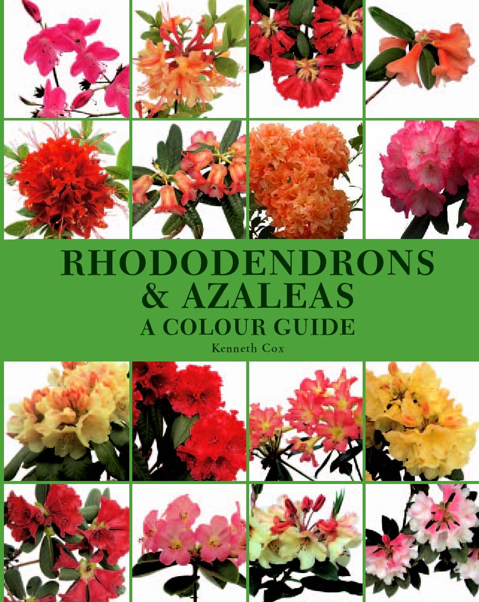 Books Rhododendrons colourguide