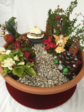 Create your very own Christmas Fairy Garden