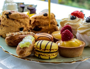 Afternoon Tea Lounge at Glendoick between Perth and Dundee